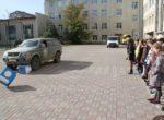Практические уроки с моделированием опасных ситуаций на пешеходных переходах проходят в тюменских школах