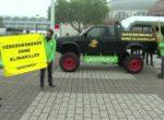 Франкфурт-2019. Протест Greenpeace в связи с продолжающимся гостиной автомобильным транспортом