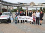 Тюменцев призвали к дорожной безопасности детей арт-объектом, установленным в центре города