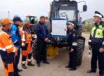 Тюменские дорожные рабочие  выступили за безаварийное  вождение, проведя акции в местах концентрации ДТП
