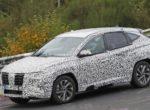Появились новые снимки будущего Hyundai Tucson (Фото)