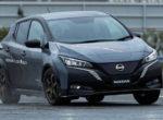 Nissan Leaf станет полноприводным (Фото)