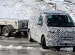 На тесты выехал знаменитый фургон Volkswagen T7 нового поколения (Фото)