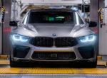 Стартовало производство нового BMW M8 Gran Coupe (Фото)