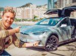 Такое бывает только в Твиттере: на анонс заезда Tesla Model S на Нюрбургринге отозвался Нико Росберг