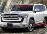 Японцы анонсировали выход мощной Toyota Land Cruiser