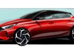 Hyundai показала первые официальные изображения нового хэтчбэка i20 (фото)