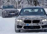 Новый BMW M5 зажгли на зимних тестах (Фото)