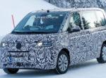 Новую версию VW Multivan T7 зажгли на тестах (Фото)
