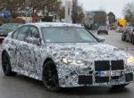 Новый BMW M3 G80 поймали на Нюрбургринге (фото)