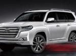 В сеты полностью рассекретили Toyota Land Cruiser 300