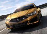 Acura представила новое поколение седана TLX (фото)