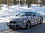Замечен прототип обновленного кабриолета BMW 4 Series