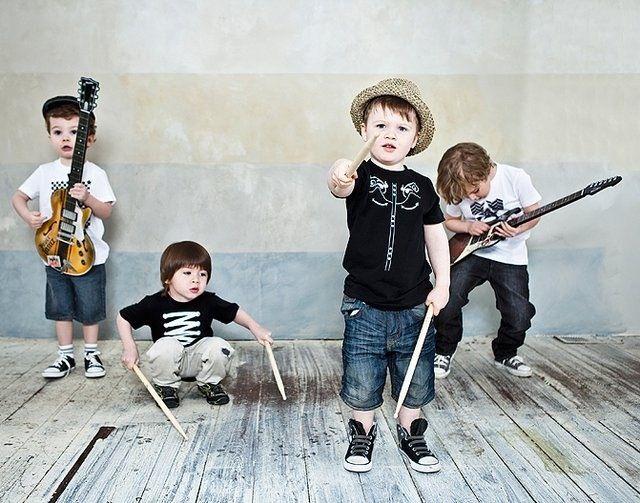 Выбор музыкальных инструментов для детей