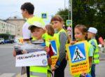 Активная тюменская общественность организовала шествия дорожной безопасности