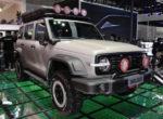 Китайцы представили крутой внедорожник Wey Tank 300 в стиле Ford Bronco (фото)