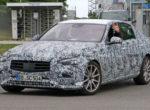 Mercedes тестирует седан C-Class 2021 (Фото)
