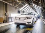 Первый электрический кроссовер Volvo уже начали выпускать (+ ФОТО)