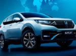 Honda представила новую гибридную версию кроссовера CR-V (фото)