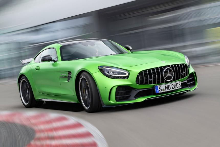 Выгодная покупка Mercedes-Benz AMG GT купе в ЛУКАВТО