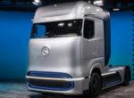 Mercedes-Benz представил водородный тягач