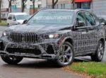 Таинственный прототип BMW X5 попал на фото