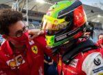 Бинотто: Мик Шумахер может стать боевым пилотом Ferrari
