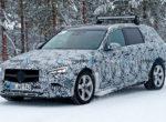 Универсал Mercedes C-Class заметили на зимних испытаниях (фото)