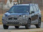 Появились первые фотографии Subaru Forester 2022 модельного года