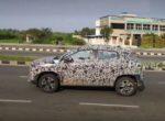 Компания Renault вывела на тесты ультрабюджетный кроссовер Kiger (Фото)