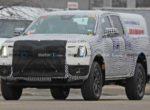 Новый Ford Ranger впервые замечен на тестах (фото)