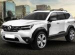 Продемонстрировали новый внедорожник Renault Bigster (Фото)