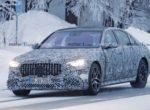 Гибридный Mercedes-AMG S63e попался на тестах в Швеции