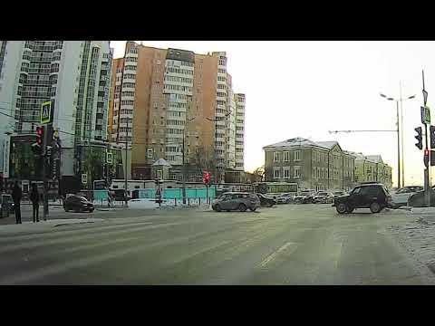 ДТП 23.01.21 Тюмень, ул. Герцена – ул. М. Тереза