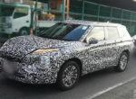 Mitsubishi Outlander нового поколения засветился на дорогах (фото)