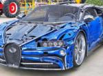 Продемонстрировали гиперкар Bugatti Chiron, сделанный из металлолома (видео)