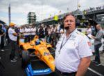 Браун: McLaren рискует откатиться на пятое место