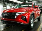 Новый кроссовер Hyundai Tucson запущен в производство (Фото)