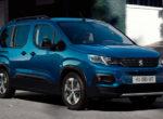 Peugeot представил электрическую версию минивэна Rifter (Фото)