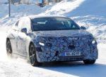 На тестах замечен прототип электрического Mercedes EQE 2022 (Видео)