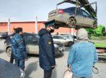 Утренний рейд — 15 автомобилей должников арестовано