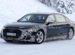Появились фото Audi A8 2022 с длинной колесной базой