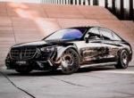 Ателье Brabus доработало новый Mercedes-Benz S 500 (фото)