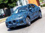 Появились фотографии нового кроссовера Maserati Grecale