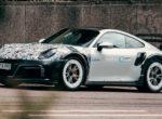 Опубликовали первые фотографии наиболее радикального Porsche 911 Turbo S