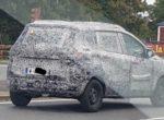 Тестовый прототип Renault Triber был замечен на дорогах (фото)