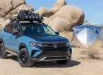 Компактный кроссовер Volkswagen Taos подготовили к серьезному бездорожью (Фото)
