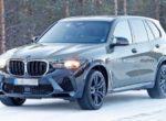 Обновленный кроссовер BMW X5 M снят на тестах в зимних условиях (Фото)