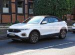 Обновленный кабриолет Volkswagen T-Roc показали на шпионских фото