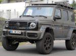 """""""Гелендваген"""" для бездорожья: замечен внедорожник Mercedes G-Class 4×4 Squared 2022 (Видео)"""